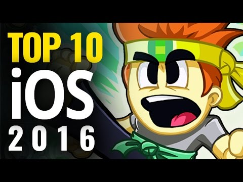 Top 10 Best iOS Games of 2016 | iPhone & iPad Mobile Games Of 2016