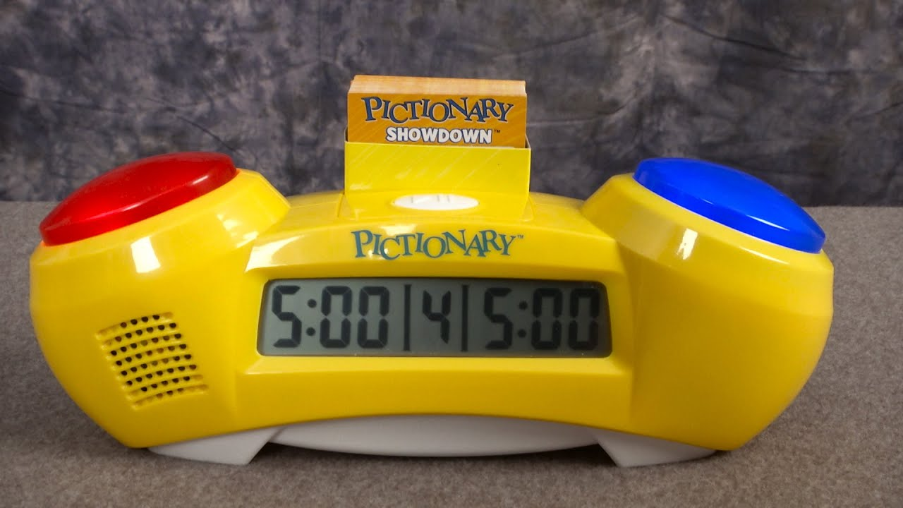 Pictionary Showdown Game from Mattel - YouTube