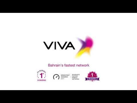 VIVA, Bahrain fastest network