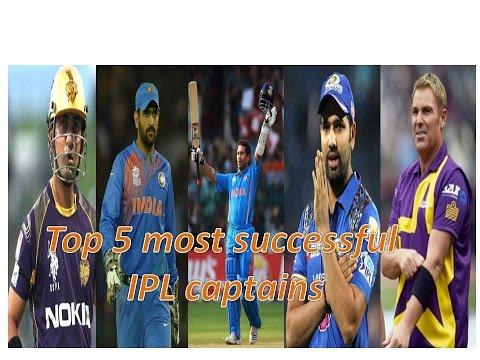Top 5 most successful IPL captains
