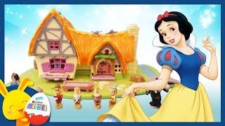 Blanche Neige et les 7 Nains - Jouet Polly Pocket et l'histoire pour les enfants - Touni Toys