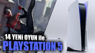 PLAYSTATION 5 TASARIMI ve 14 YENİ PS5 OYUNU: SPIDER-MAN 2, RESIDENT EVIL 8…