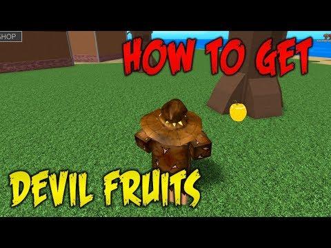 HOW TO GET A DEVIL FRUIT   ONE PIECE MILLENIUM   ROBLOX