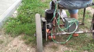 Homemade electric car, самодельный электромобиль.(Homemade electric car, самодельный электромобиль., 2013-09-03T09:41:50.000Z)