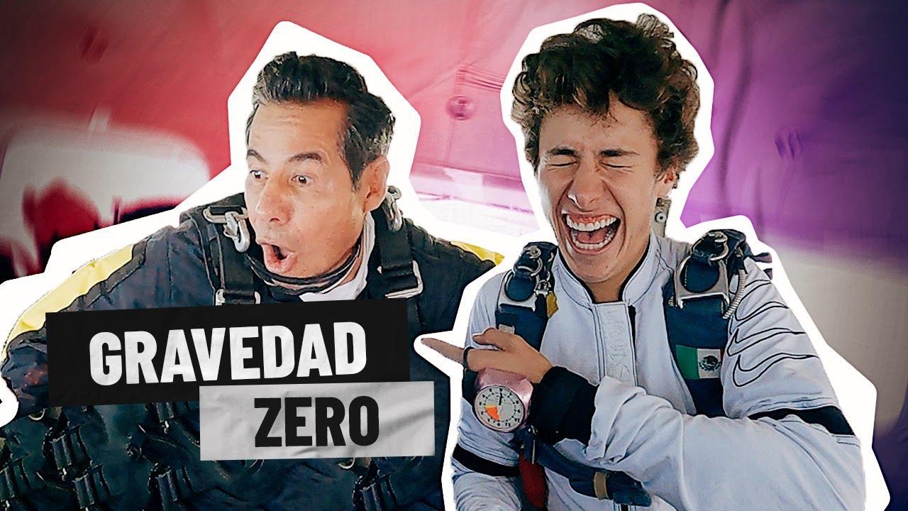 Yordi Rosado se ARREPIENTE de aventarse de paracaídas