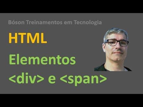 Curso De HTML E CSS   Elementos Div E Span