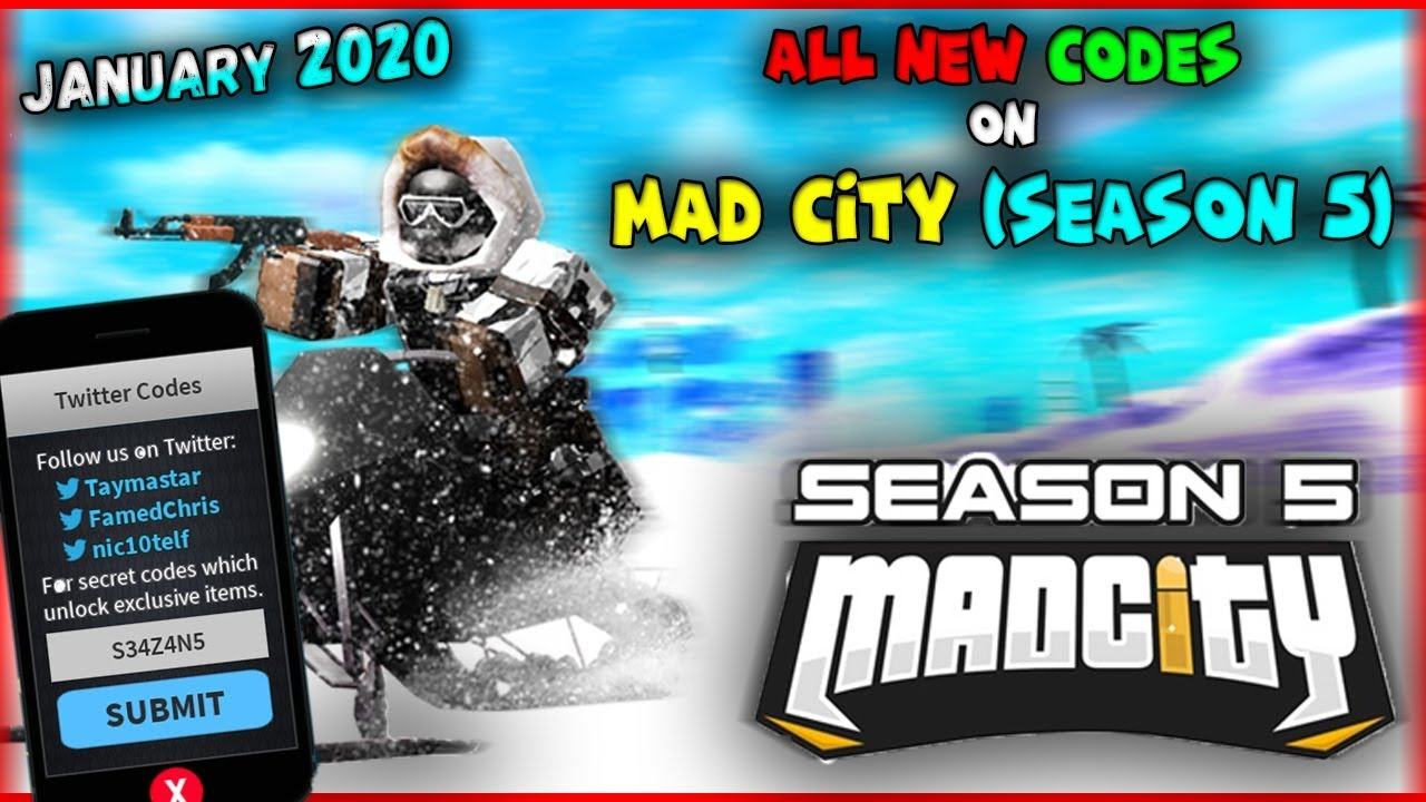 Dantdm Roblox Mad City Codes Season 5 All New Codes On Mad City January 2020 Roblox Youtube