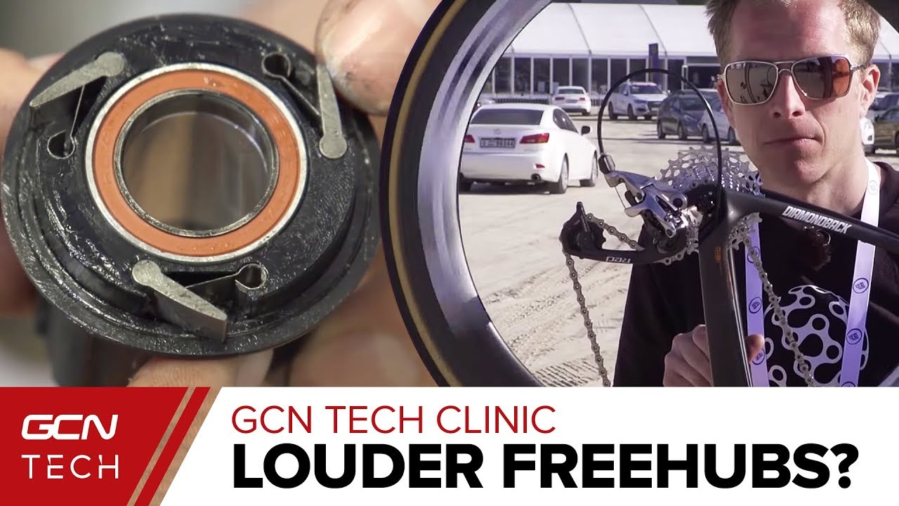 how to make freehub louder