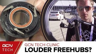 Can You Make Your Freehub Louder? | The GCN Tech Clinic