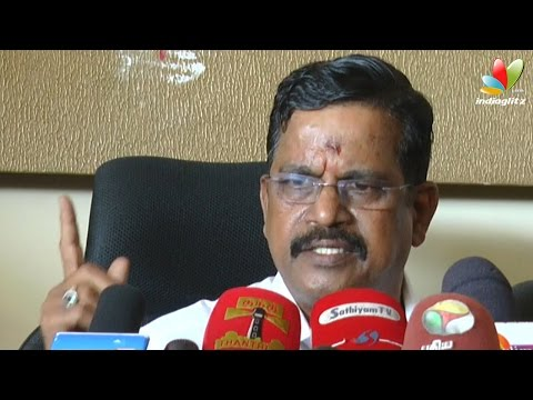 To spoil Vijay's reputation they had not released Theri - Kalaipuli S Thanu | Release Problem