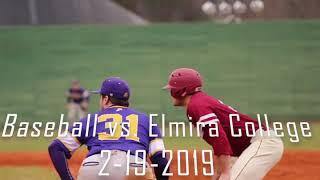 Baseball vs. Elmira College