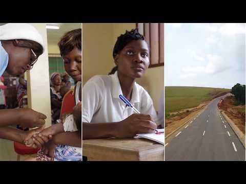 La route construite par Shell Gabon
