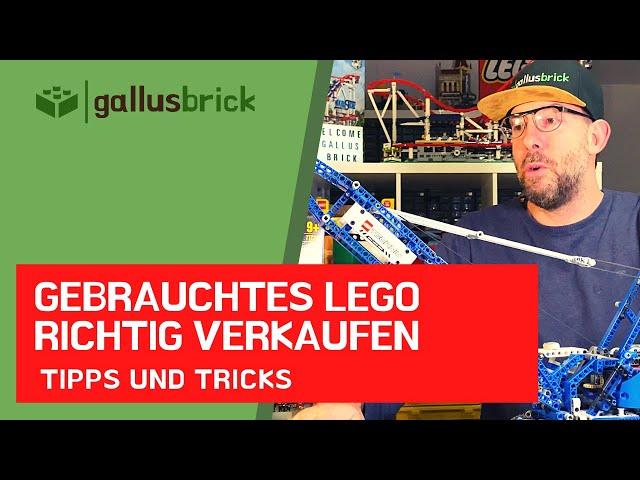 Schwierigkeiten gebrauchte LEGO Sets zu verkaufen? So gehts richtig!