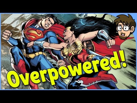 Overpowered DC Comics Heroes!