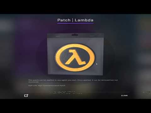 CSGO UPDATE 03/22/2020 (HALF-LIFE: ALYX STICKERS/PATCHES/PINS)