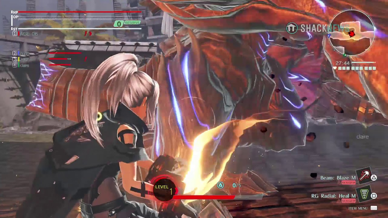 God Eater 3 Gameplay Preview - YouTube