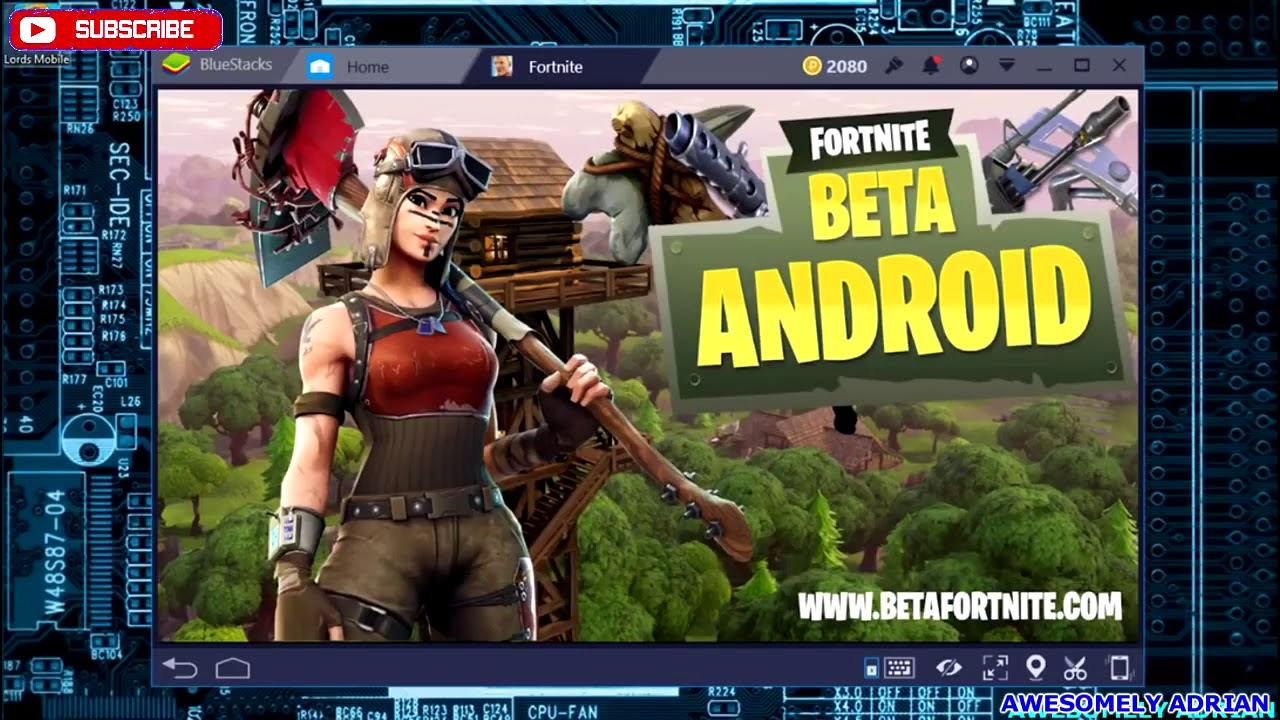 Fortnite Mobile Android On Blue Stacks Android Emulator Download - fortnite mobile android on blue stacks android emulator download gameplay test