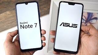 redmi Note 7 vs ASUS ZenFone MAX Pro M2: лучший или самый лучший?