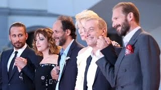 "Cast of  ""A Bigger Splash"" on the red carpet -  Part 1"