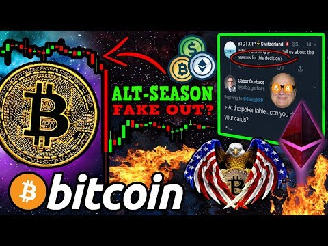 "BITCOIN: Was THAT The BIG ""Bakkt Dump""? Altcoin Rally OVER?! $BTC ETF Cancelled!?"