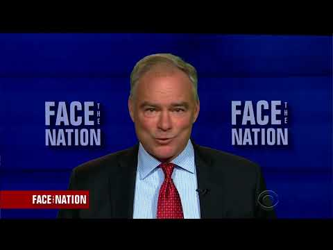 Tim Kaine Suggests Replacing Robert E. Lee Statue With Pocahontas