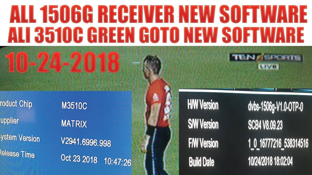ALL 1506G RECEIVER NEW SOFTWARE 10-24-2018 - Video - ViLOOK
