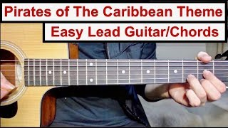 Baixar Pirates of The Caribbean Theme   EASY Lead Guitar/Chords Lesson (Tutorial) How to play the Lead