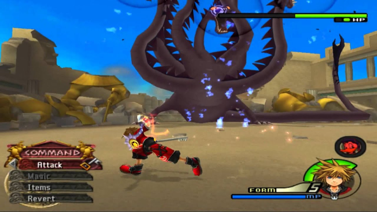 Kingdom hearts 2 Final mix Level 1 run. NO MAGIC, VALOR FORM ONLY ...