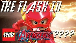 LEGO MARVEL AVENGERS - HOW TO MAKE THE FLASH!!!!