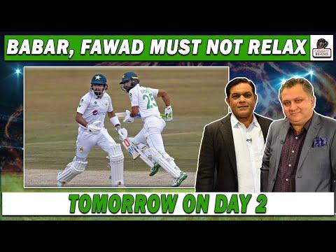Babar, Fawad must not relax tomorrow on day 2   Pak V SA   Caught Behind