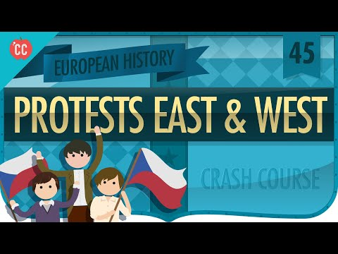 Protests East and West: Crash Course European History #45