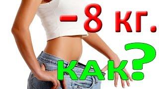 Как похудеть не занимаясь спортом | Как похудеть за 4 недели