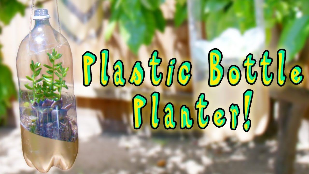 How To Make Plastic Bottle Planters Smart Life Hacks