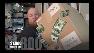 I bought an $1800 Amazon Electronics Customer Returns Pallet / Mystery Box