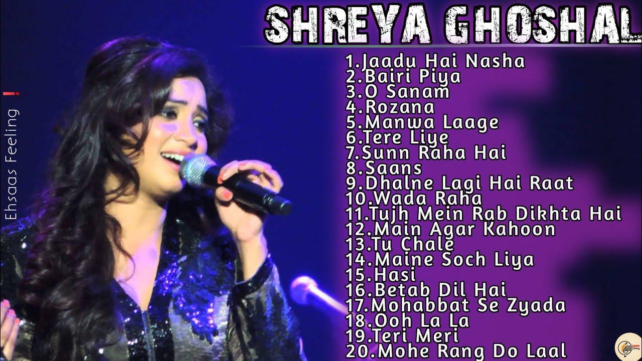 Shreya Ghoshal Hits✨ Best Of Shreya Ghoshal|Bollywood Songs