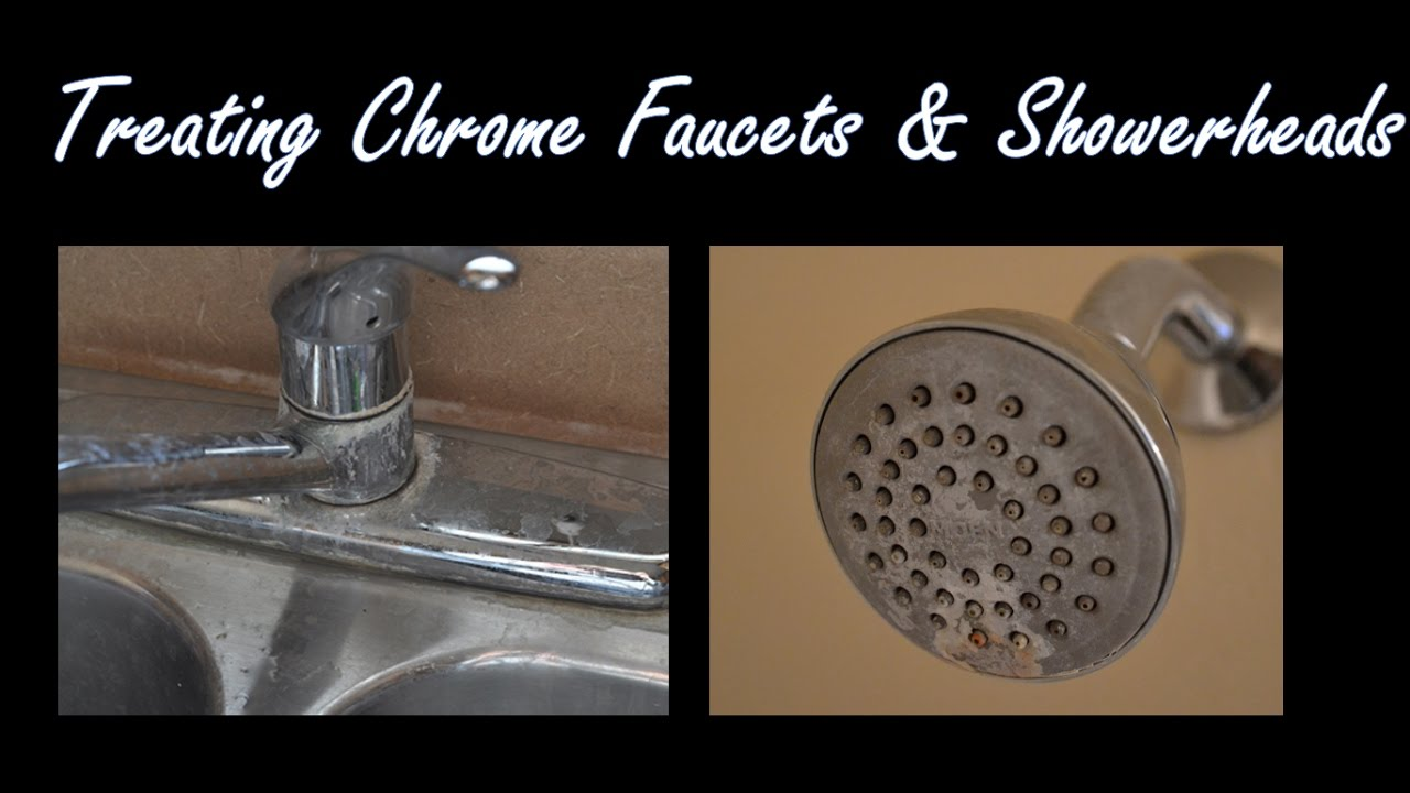 BEST DIY Kitchen/Bathroom Shower Head Faucet Cleaning Tips, Tricks ...
