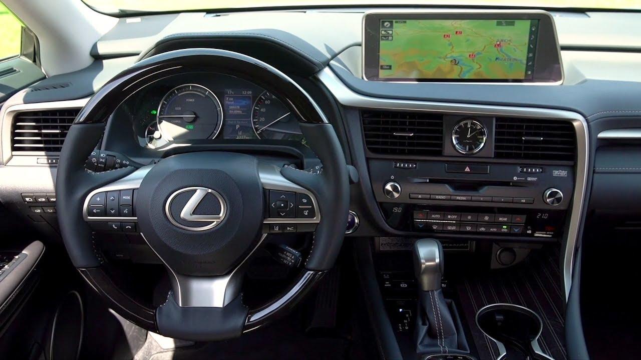 2019 Lexus RX 450hL - Interior (EU Spec)
