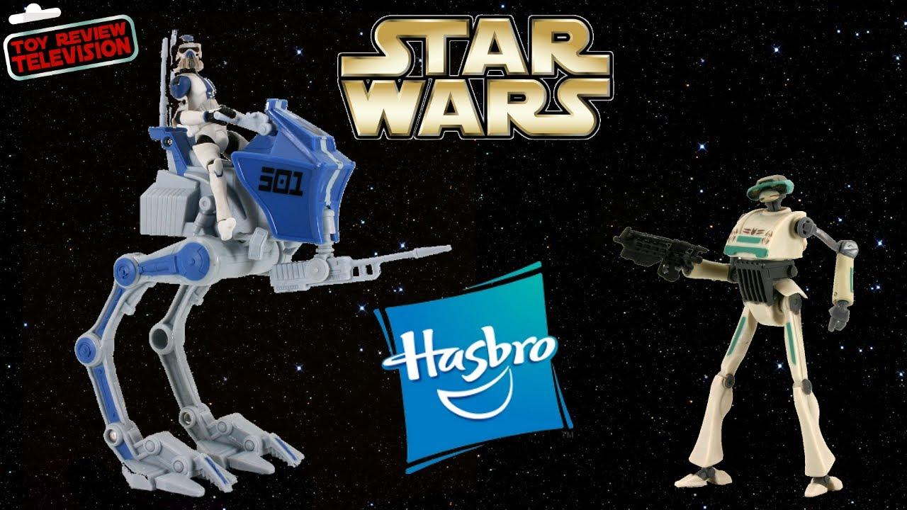 Hasbro Star Wars 2013 501st Legion At Rt Set Action Figure