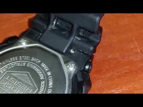Замена ремешка часов G-shock