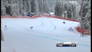 Lindsey Vonn Garmisch Downhill run (50th win) Инструктор в Mayrhofen Ischgl