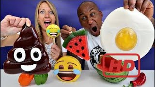 Real Food VS Gummy Food! Gross Giant Candy Challenge - Best Chef Edition Jordon VS Tiana