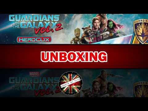 Heroclix Unboxing: Guardians of the Galaxy Vol. 2 - Part 1