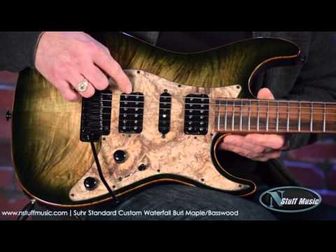 Suhr Standard Custom Waterfall Burl Maple | N Stuff Music