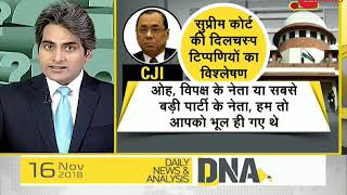 DNA: Apex court on CBI director Alok Verma