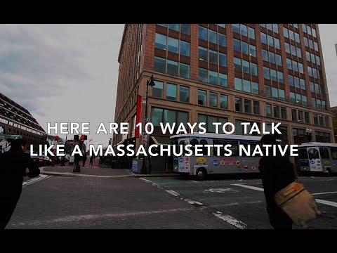 10 ways to talk like a Massachusetts native