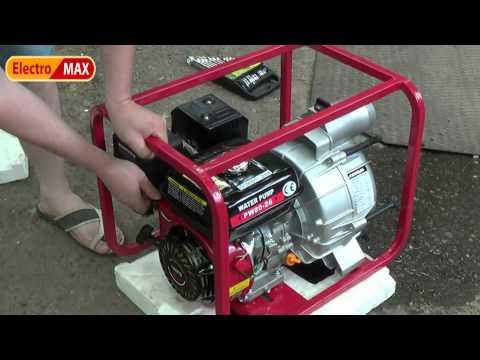 WEIMA WMPW 80-26 мотопомпа для грязной воды