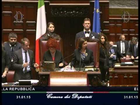 Sergio Mattarella eletto dodicesimo Presidente della Repubblica