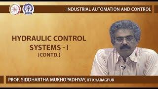 Hydraulic Control Systems - I (Contd.)