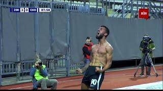 Заря  3-0  Черноморец видео