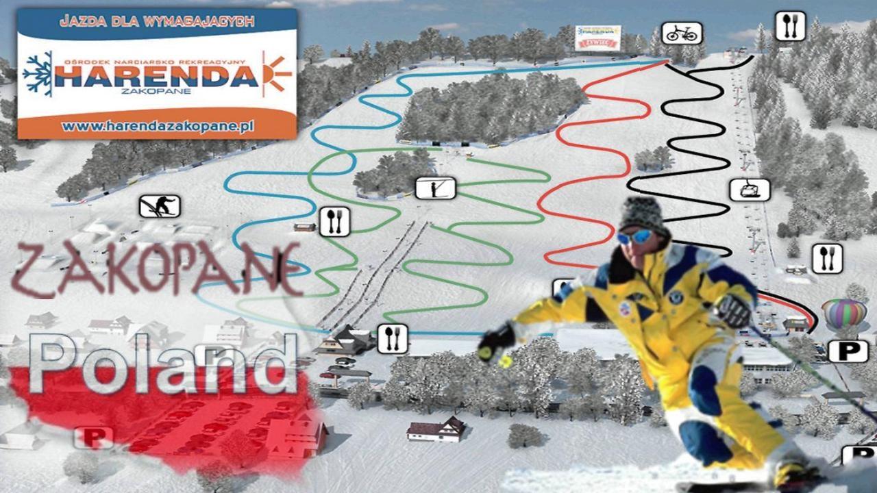 Zakopane The Ski Resort Harenda Youtube